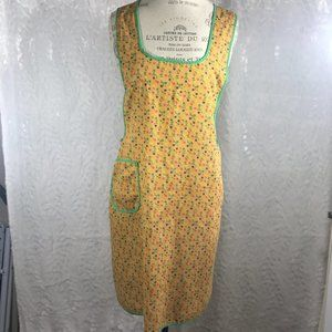 Vintage 50's-60s floral Grannies Wrap Apron Dress